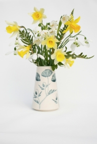 Poppy Vase with flowers