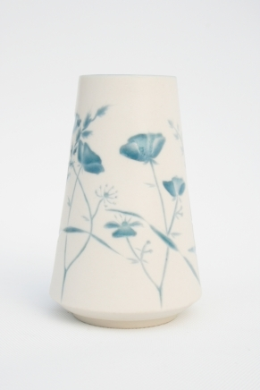 Wildflower Vase Dark Blue
